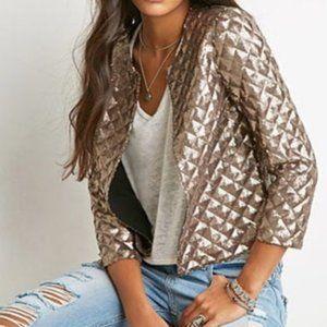 Forever 21 Sequin Jacket